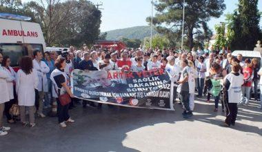 14 Mart Tıp Bayramı'nda sağlıkçılar ve halkımız mutsuz, örgütsüz…