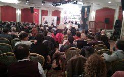Birleşik Kamu-İş'e bağlı Eğitim-İş Sendikası 5. dönem 2. Olağanüstü Genel Kurulu 20 Ocak 2020 tarihinde Ankara'da yapıldı