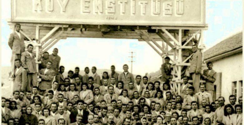 81. kuruluş yıldönümünde Köy Enstitülerinin mirasına sahip çıkıyoruz