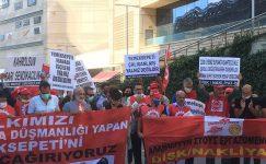 Nakliyat-İş Sendikası'nın, Yemeksepeti işvereninin işçi ve sendika düşmanlığına karşı halkın tüketimden gelen gücünü kullanarak başlattığı boykotu destekliyoruz